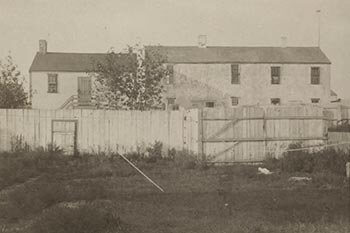 Old Gaol and House of Corrections, ca. 1880, photographer Harry Platt