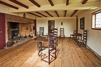 Oldest House Great Room, 2012, photographer Jeffrey Allen.