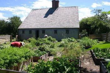 Oldest House Kitchen Garden